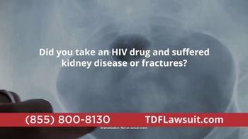 TDFLawsuit.com TV Spot, 'HIV Drug'