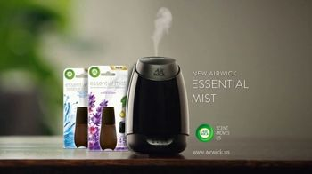 Air Wick Essential Mist TV Spot, 'Essential Oils Transformed Into Mist' - Thumbnail 10
