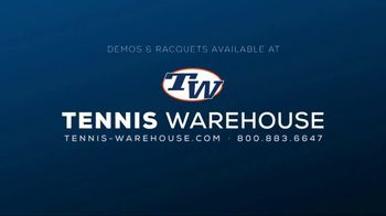 Tennis Warehouse TV Spot, 'Head MXG Tennis Racquets' - Thumbnail 9