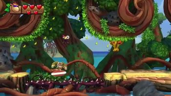 Donkey Kong Country: Tropical Freeze TV Spot, 'Trouble in Paradise' - Thumbnail 7