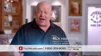 LifeLock TV Spot, 'Harrison DSP1 V1' Featuring Rick Harrison - Thumbnail 3