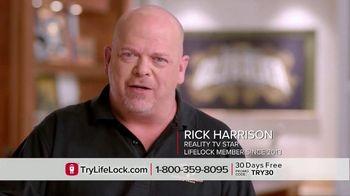 LifeLock TV Spot, 'Harrison DSP1 V1' Featuring Rick Harrison