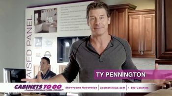 Cabinets To Go Buy More Save More TV Spot, 'Discoveries' Ft. Ty Pennington