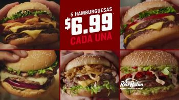Red Robin Cowboy Ranch Tavern Double TV Spot, 'Remojar' [Spanish] - Thumbnail 4