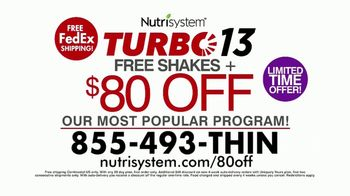 Nutrisystem Turbo 13 TV Spot, 'Weighing You Down: 80' Feat. Marie Osmond - Thumbnail 10