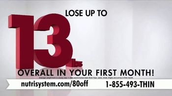 Nutrisystem Turbo 13 TV Spot, 'Weighing You Down: 80' Feat. Marie Osmond - Thumbnail 8