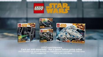 LEGO Star Wars Han Solo Sets TV Spot, 'Stop That TIE Fighter' - Thumbnail 10