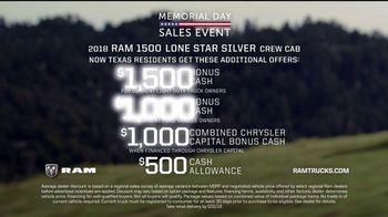 Ram Trucks Memorial Day Sales Event TV Spot, 'Show Up' - Thumbnail 10
