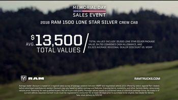 Ram Trucks Memorial Day Sales Event TV Spot, 'Show Up' - Thumbnail 8