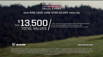 Ram Trucks Memorial Day Sales Event TV Spot, 'Show Up' - Thumbnail 9