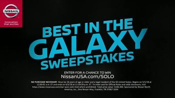 Nissan TV Spot, 'Best in the Galaxy Sweepstakes' [T1] - Thumbnail 4