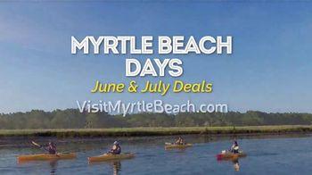 Visit Myrtle Beach Days TV Spot, 'June & July Deals' - Thumbnail 9