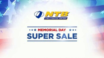 National Tire & Battery Memorial Day Super Sale TV Spot, 'Buy Two, Get Two'