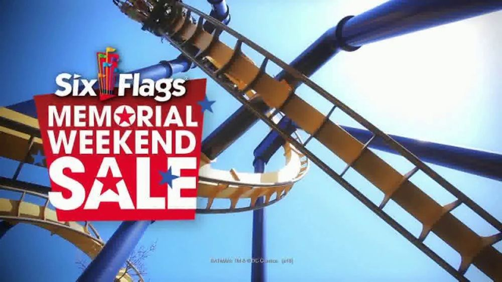 Six Flags Great America Memorial Weekend Sale TV Commercial, 'Go Big' -  Video