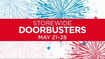 Belk Memorial Day Sale TV Spot, 'Doorbusters for the Whole Family'