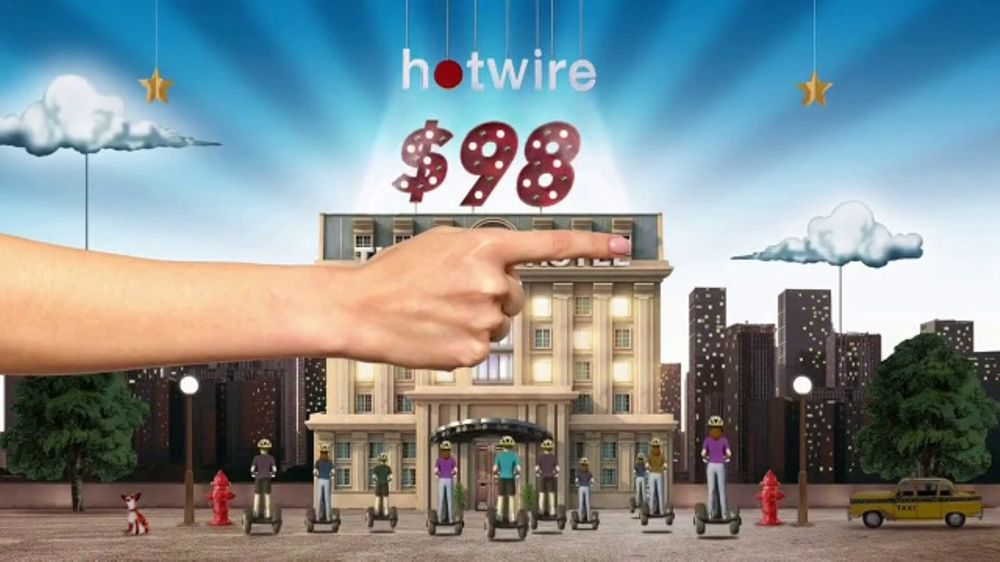 Hotwire TV Commercial, 'The Hotwire Effect - Tourist'