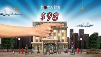 Hotwire TV Spot, 'The Hotwire Effect - Tourist'