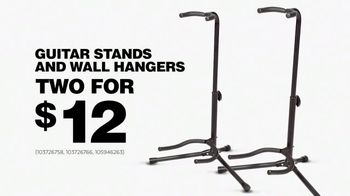Guitar Center TV Spot, '2018 Memorial Day: Guitar Stands and Wall Hangers' - Thumbnail 7