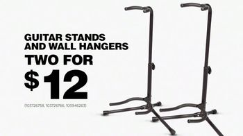 Guitar Center TV Spot, '2018 Memorial Day: Guitar Stands and Wall Hangers' - Thumbnail 8
