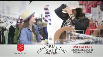The Salvation Army Memorial Day Sale TV Spot, 'One Day Only' - Thumbnail 9
