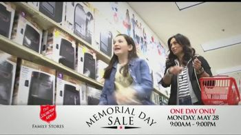 The Salvation Army Memorial Day Sale TV Spot, 'One Day Only' - Thumbnail 3