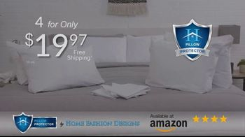 Home Fashion Designs Pillow Protector TV Spot, 'Right Under Your Nose' - Thumbnail 9