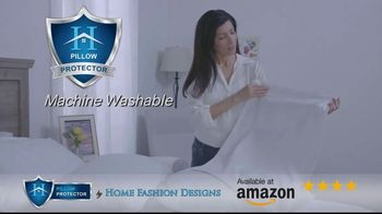 Home Fashion Designs Pillow Protector TV Spot, 'Right Under Your Nose' - Thumbnail 6