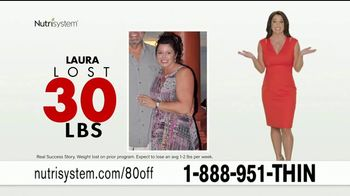 Nutrisystem Turbo 13 TV Spot, 'Save $80' Featuring Marie Osmond - 139 commercial airings