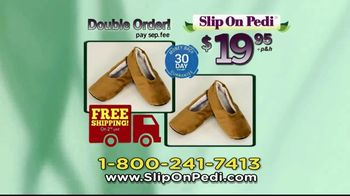 Slip On Pedi TV Spot, 'Moisturize Feet With Every Step' - Thumbnail 9
