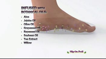 Slip On Pedi TV Spot, 'Moisturize Feet With Every Step' - Thumbnail 3