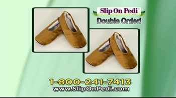 Slip On Pedi TV Spot, 'Moisturize Feet With Every Step' - Thumbnail 8