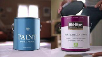 BEHR PREMIUM PLUS Paint Memorial Day Savings TV Spot, 'Overachiever' - Thumbnail 2