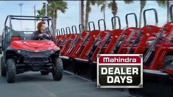 Mahindra Dealer Days TV Spot, 'Biggest Deals of the Season' - Thumbnail 2