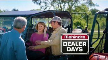 Mahindra Dealer Days TV Spot, 'Biggest Deals of the Season' - 104 commercial airings