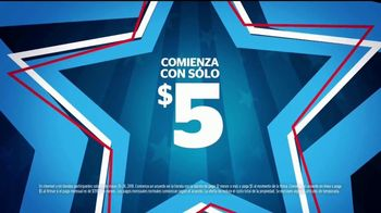Aaron's Evento Memorial Day TV Spot, 'Comienza con $5 dólares' [Spanish]