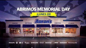 Aaron's Evento Memorial Day TV Spot, 'Comienza con $5 dólares' [Spanish] - Thumbnail 6