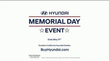 Hyundai Memorial Day Event TV Spot, 'Want More?' [T2] - Thumbnail 7