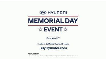 Hyundai Memorial Day Event TV Spot, 'Kona: The Right Size: First Ever' [T2] - Thumbnail 7