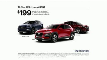 Hyundai Memorial Day Event TV Spot, 'Kona: The Right Size: First Ever' [T2] - Thumbnail 5