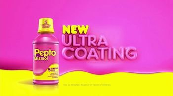 Pepto-Bismol Ultra Coating TV Spot, 'Pepto Pop Routine' - Thumbnail 8
