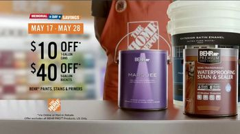 BEHR MARQUEE Interior Memorial Day Savings TV Spot, 'It's Got Potential' - Thumbnail 10