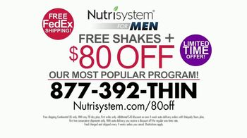 Nutrisystem for Men TV Spot, 'Put Down the Wings' - Thumbnail 10
