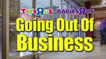 Toys R Us & Babies R Us Going Out of Business Liquidation TV Spot, 'Smash'