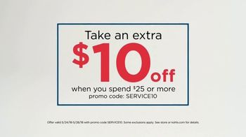 Kohl's Memorial Day Sale TV Spot, 'Extra $10 Off'