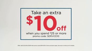Kohl's Memorial Day Sale TV Spot, 'Extra $10 Off' - Thumbnail 3