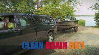 Wildlife Forever TV Spot, 'Clean, Drain, Dry'