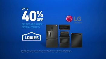 Lowe's TV Spot, 'Oven Moment: Appliance Special Values' - Thumbnail 7