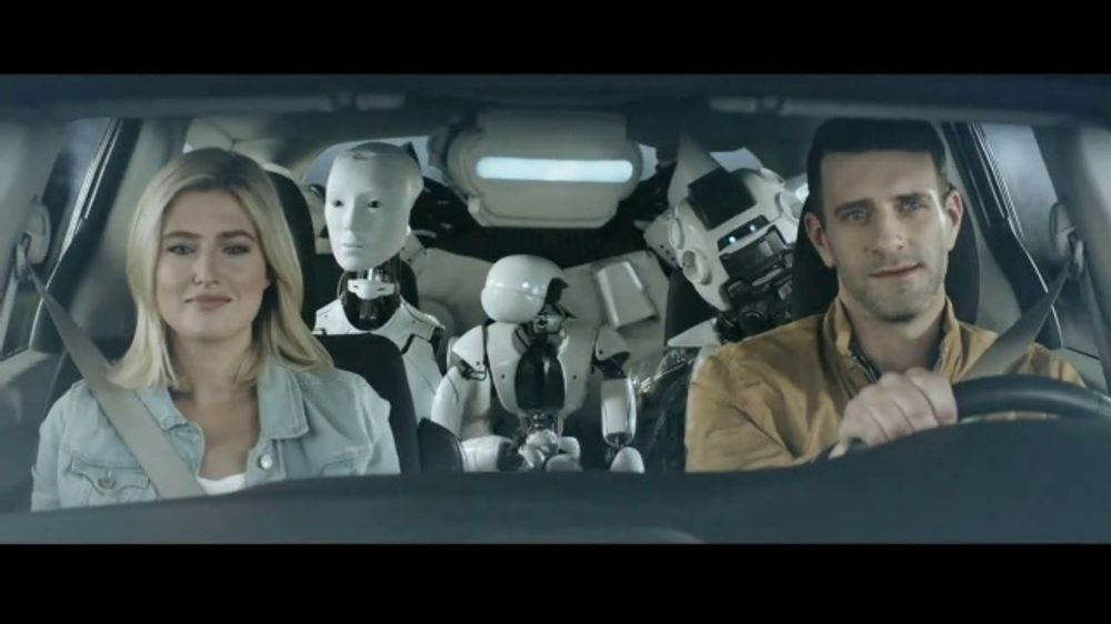 Sprint Unlimited TV Commercial, 'Robot Road Trip'