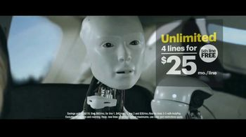 Sprint Unlimited TV Spot, 'Robot Road Trip' - Thumbnail 5