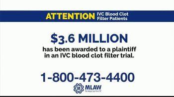 Meyer Law Firm TV Spot, 'Blood Clot Filter' - Thumbnail 3